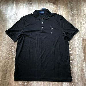 NWT Ralph Lauren Polo Black with white horse